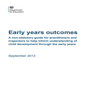 Early years outcomes (EYFS)