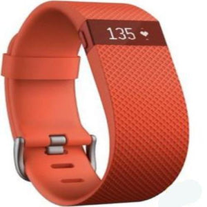 Fitbit Charge HR Tangerine (Large) - With Warranty - LIMITED OFFER -Lowest Price Available in Three Colours