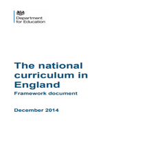 Load image into Gallery viewer, The updated 2016 National Curriculum in England
