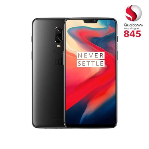 OnePlus 6 Dual SIM 256GB 8GB RAM A6003 Midnight Black
