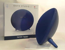 Load image into Gallery viewer, Harman Kardon ONYX STUDIO 4 Portable Bluetooth Speaker - Blue