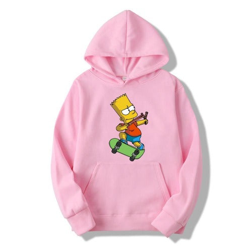 Simpsons Print Hoodies- Men - Jamesen