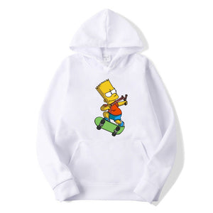Simpsons Print Hoodies- Men