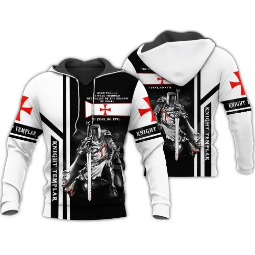 Knight Armour Pullover Hoodies - Men - Jamesen