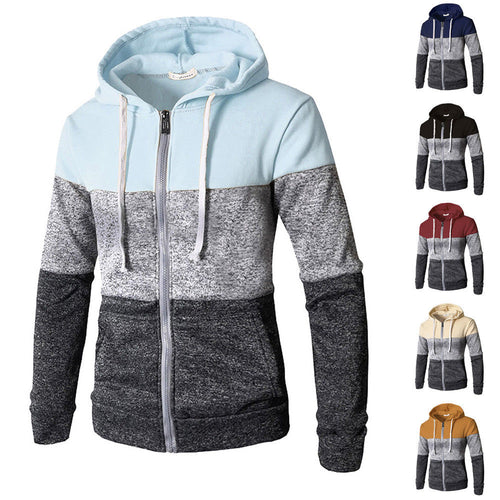 Zip Up Casual Sweater Hoodie - Jamesen