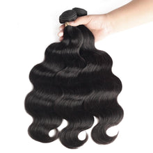 Load image into Gallery viewer, Brazilian Hair Weave 3 Bundles With Closure - Jamesen