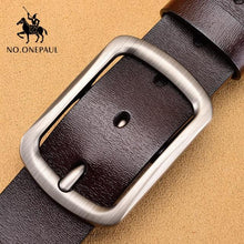 Load image into Gallery viewer, Genuine Leather Belt For Men - Jamesen