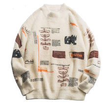Load image into Gallery viewer, Graffiti Knitted Pullover Jumper - Men - Jamesen