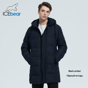 Windproof Warm Hooded Parkas Jacket -Men