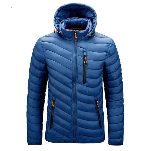 Warm Waterproof Winter Jacket - Men - Jamesen