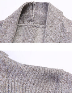 Knitted Sweater Solid Bottoming - Jamesen
