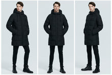 Load image into Gallery viewer, Windproof Warm Hooded Parkas Jacket -Men