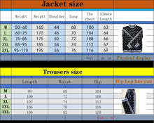 Load image into Gallery viewer, Zipper Stand-up collar Tracksuit - Men Set