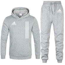 Load image into Gallery viewer, Zipper Hoodie + Pant Tracksuits - Men