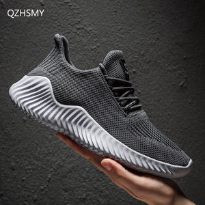 Breathable Mesh Sneakers - Men