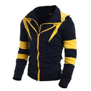 Retro Long Sleeve Men Hoodie Sweatshirt
