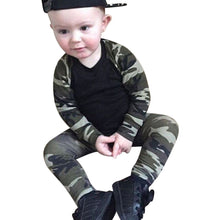 Load image into Gallery viewer, Spring Baby Boy Camouflage Set 0-24M