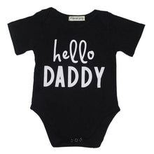 Load image into Gallery viewer, Newborn Baby Romper Letter Prints O-neck Short Sleeve unisex