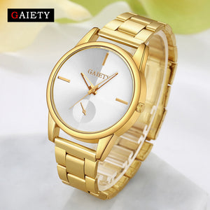luxury Brand Fashion Gold Women Watch
