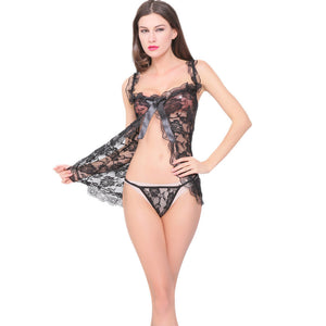 Women Lingerie Lace Underwear Dress