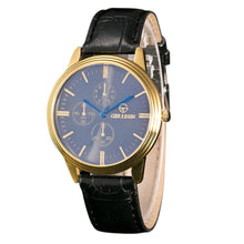 Load image into Gallery viewer, Men Leather Band Sport Analog Watch
