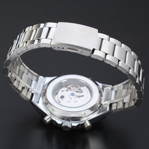 New Automatic Watch For Men - Stainless Steel
