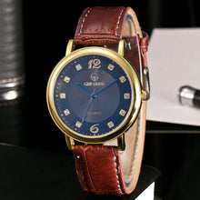 Load image into Gallery viewer, Men Leather Band Sport Watch