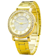 Load image into Gallery viewer, Quartz Classic Round Men Crystal Watch