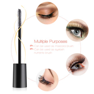 FRCOLOR 3pcs 7.5ml Empty Mascara Tube with 3pcs Eyelash Wand Eyelash Cream Container
