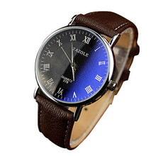 Load image into Gallery viewer, Luxury Fashion Faux Leather Men Watch