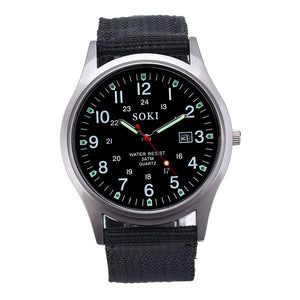 Luxury Fashion Men Quartz Analog Watch