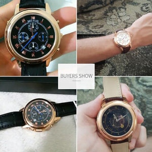 Original Military Men Leather Watch