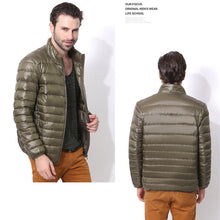 Load image into Gallery viewer, Ultra Light  Men Duck Down Jacket