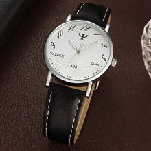 Load image into Gallery viewer, Fashion Faux Leather Men Analog Watch