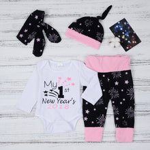 Load image into Gallery viewer, Newborn Baby/Girls Boys Romper Outfit Set