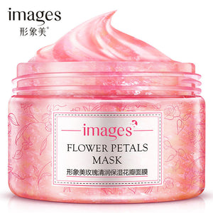 Rose  Flower Petals Facial Mask Moisturising Skin Care
