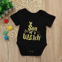 Load image into Gallery viewer, Newborn Baby Boy Letter Printing Romper Jumpsuit Pyjamas