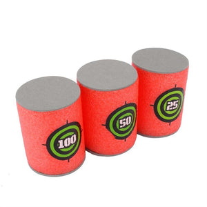 Soft Foam Target Cans