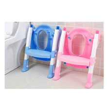 Load image into Gallery viewer, Baby Toddler Potty Training Toilet Chair Seat Step Ladder - Jamesen