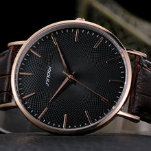 Load image into Gallery viewer, SINOBI Waterproof Men Leather Watch