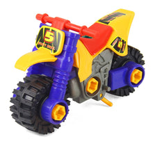 Load image into Gallery viewer, Mini Dismounting Beach Motorcycle Puzzle Toy