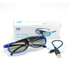 Load image into Gallery viewer, LEORY Shutter 3D Glasses With Rechargeable Battery