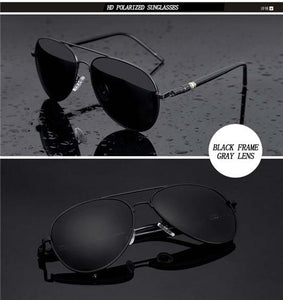 Metail Frame Men Sunglasses - Jamesen