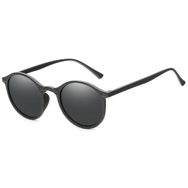 Round Retro Men Sunglasses - Jamesen