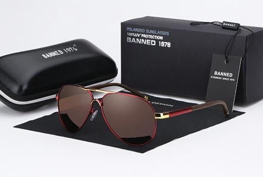 HD Polarized UV 400 men Sunglasses - Jamesen