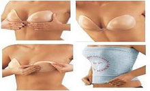 Load image into Gallery viewer, Silicone Invisible Bra Strapless Backless Adhesive Size C