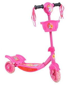 PLAYING SHINING SCOOTER * BLUE * PINK * Adjustable Steering Wheels