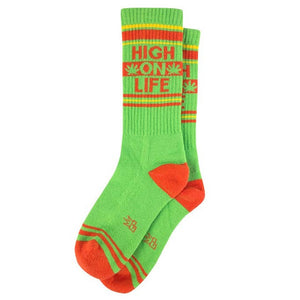 High On Life Wide Ribbed Socks