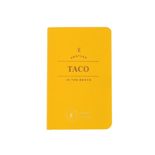 Taco Passport Journal