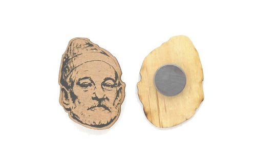 Bill Murray Zissou Magnet